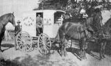 James Theodore and his horse Teddy, Henry Wheeler in milk wagon